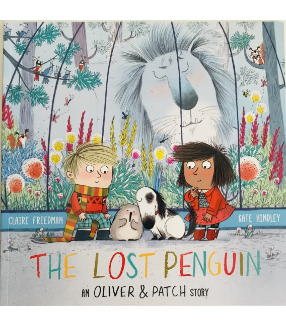 STORYBOOK - OLIVER & PATCH - THE LOST PENGUIN