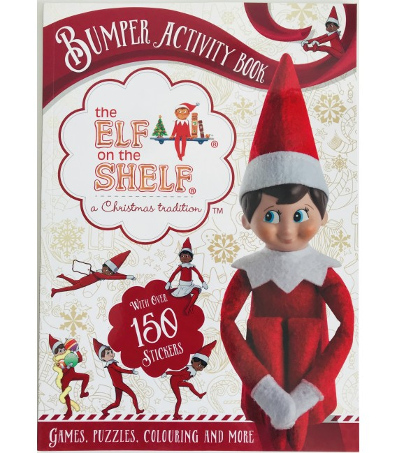 BUMPER ACTIVITY BOOK - THE ELF ON THE SHELF