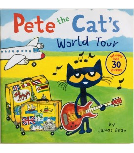 STORYBOOK - PETE THE CAT´S WORLD TOUR