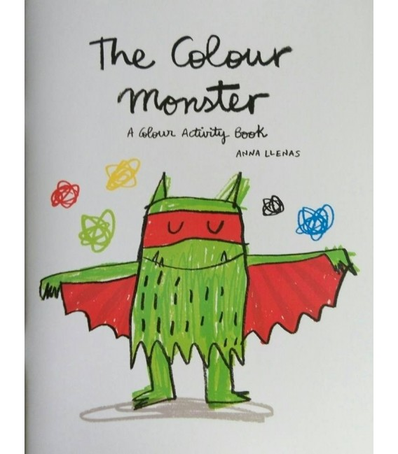 COLOUR BOOK - MONSTER