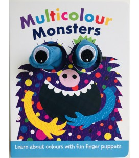 PUPPET BOOK - MULTICOLOUR MONSTERS