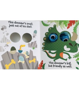 PUPPET BOOK - DINOSAUR OPPOSITES