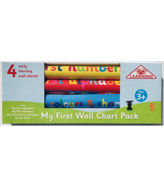 MY FIRST WALL CHART PACK 3+