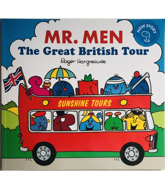 STORYBOOK - MR. MEN THE GREAT BRITISH TOUR