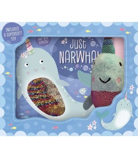 JUST NARWHAL - BOOK & TOY GIFT SET