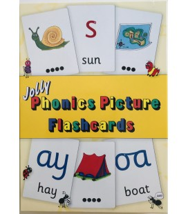 JOLLY PHONICS - PICTURE FLASHCARDS