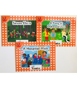 JOLLY PHONICS - ORANGE LEVEL READERS SET 5