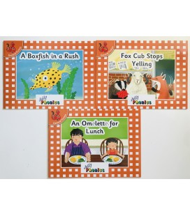 JOLLY PHONICS - ORANGE LEVEL READERS SET 6