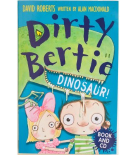 DIRTY BERTIE - BOOK AND CD - DINOSAUR!
