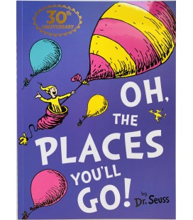 STORYBOOK - DR SEUSS - OH, THE PLACES YOU´LL GO!