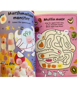 STICKER ACTIVITY BOOK - SWEETS AND TREATS