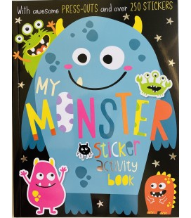 STICKER ACTIVITY BOOK - MY MONSTER