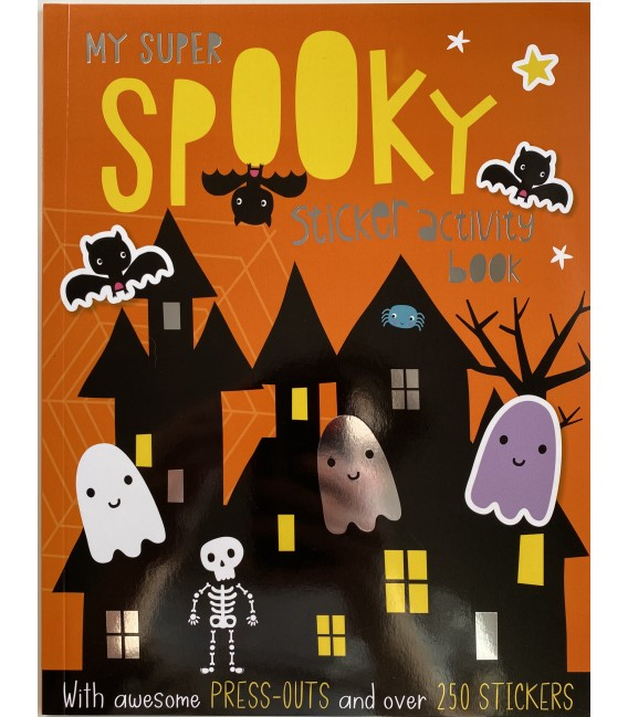 STICKER ACTIVITY BOOK - MY SUPER SPOOKY