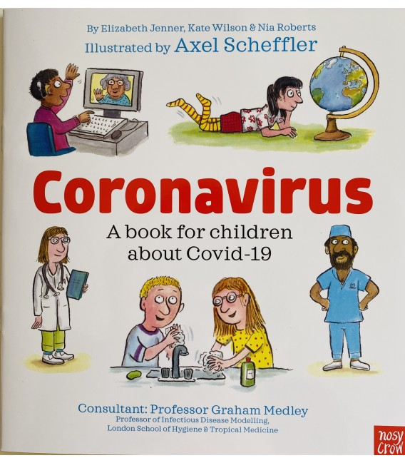 CORONAVIRUS - A BOOK FOR CHILDREN ABOUT COVID-19