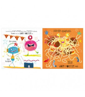 THE VERY HUNGRY WORRY MONSTERS - STORYBOOK AND SOFT TOY