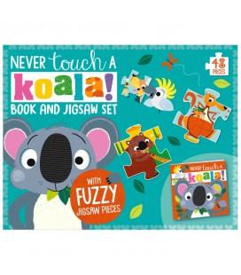 NEVER TOUCH A KOALA! BOOK AND JIGSAW SET