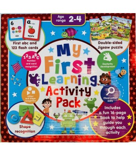 MY FIRST LEARNING ACTIVITY PACK