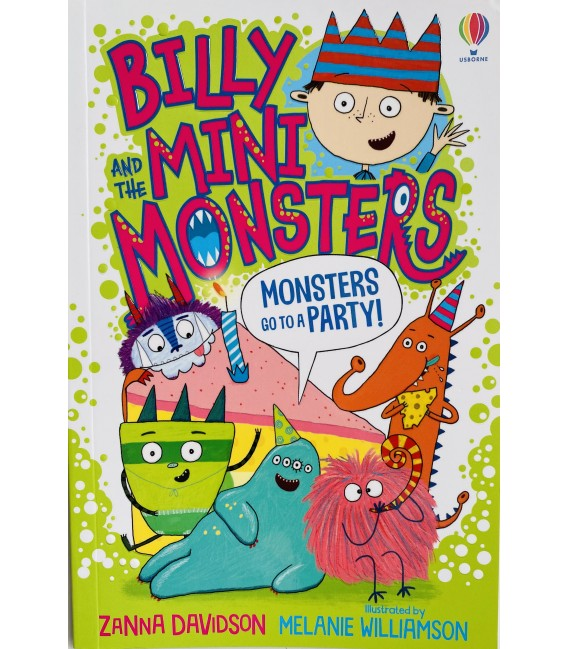 BILLY AND THE MINI MONSTERS - MONSTERS GO TO A PARTY!