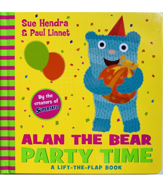 ALAN THE BEAR - PARTY TIME