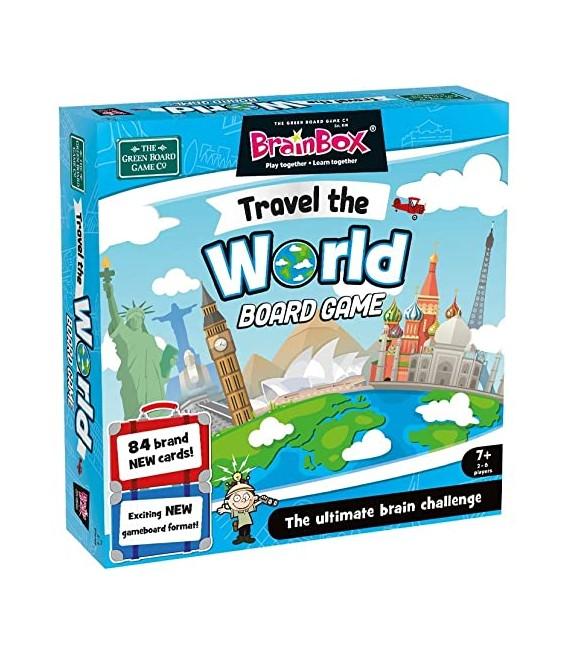 BRAINBOX TRAVEL THE WORLD BOARD GAME