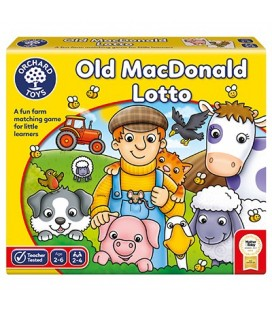 MATCHING AND MEMORY GAME - OLD MACDONALD LOTTO