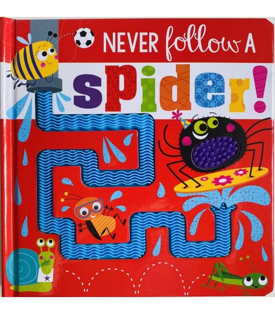 NEVER FOLLOW A SPIDER!
