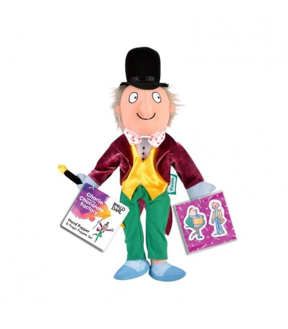 HAND PUPPET - CHARLIE AND THE CHOCOLATE FACTORY - ROALD DAHL