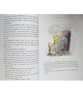 ROALD DAHL - THE WITCHES - LARGE & COLOUR EDITION