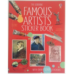 STICKER BOOK - FAMOUS ARTISTS