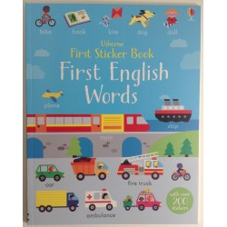 STICKER BOOK - FIRST ENGLISH WORDS